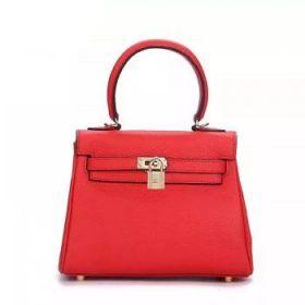 Hermes Kelly Red Togo Leather 25cm Bag Gold-plated Lock Online UK Women Birthday Gift