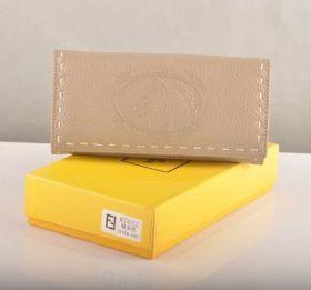 Fendi Selleria Silver Grey Calfskin Leather Long Wallet Price In Sydney Women Gift