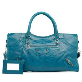 Balenciaga Giant 12 Part Time Tubular Top Handles Belt & Buckle Detail Ladies Lagon Studs Handbag Replica