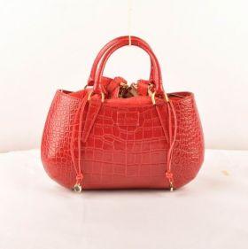 High-end Fendi B Fab Red Crocodile Veins Leather Medium Bag Imitation Price Sydney