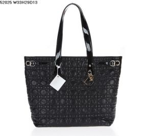 Christian Dior Panarea Classy Black Lambskin-Quality Leather Shoulder Bag 2018 Hot Street Fashion