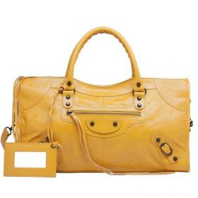Summer Latest Balenciaga Mangue Leather Front Zipper Pocket Buckle Trimming Ladies Part Time Handbag Online