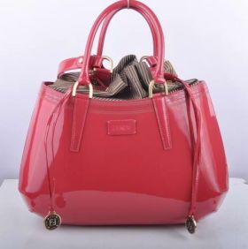 Fendi B Fab Peach Patent Leather Large Fake Top-handle Bag Holiday Trip Sale Online UK