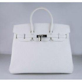 Hermes Birkin Beige Togo Leather Handbag 35cm Silver Buckle Top Handle Shopping Sale Singapore