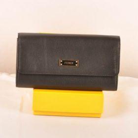 High-quality Dupe Women Fendi Black Ferrari Leather Long Wallet Sale Malaysia Review