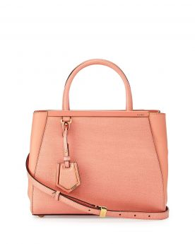 Fendi 2018 2Jours Mini Shopping Pink Tote Bag Classy Celebrity Price Singapore Review Online Store