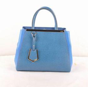 Fendi Copy Petite 2jours Small Bag Cross Veins With Navy Blue Ferrari Leather Sale 2018