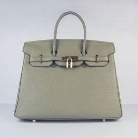Hermes Birkin Dark Grey Togo Leather 30cm Handbag Golden Lock Top Handle On Sale Philippines
