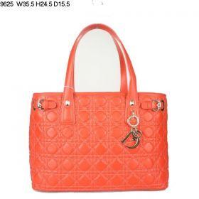 Christian Dior Panarea Orange Medium Lambskin-Quality Leather  Shopping  Shoulder Bag  Sale Modest Price