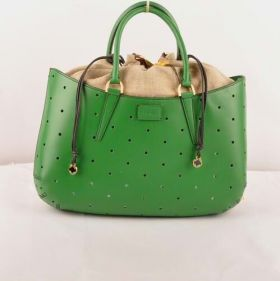 Best Quality Fendi B Fab Green Ferrari Leather Large Perforated Bag Formal Dinner For Women