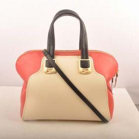 Fendi Chameleon Beige Imported Ferrari Leather Top-handle Modern Bag Black Narrow Shoulder Belt Canada