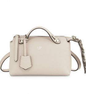 Wholesale Fendi By The Way White Leather Mini Satchel Bag Fashion Party USA Outlet