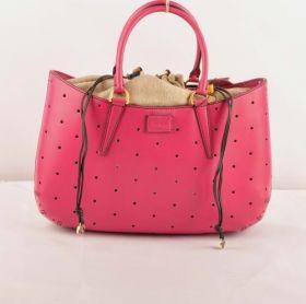 Fendi B Fab Peach Ferrari Leather Perforated Knockoff Large Bag Girlfriend Valentine Gift Paris