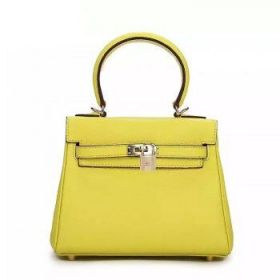 Hermes Knockoff Kelly 25cm Lemon Yellow Togo Leather Bag Gold-plated Lock Price Philippines Street Style